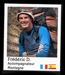 Frédéric D., accompagnateur montagne