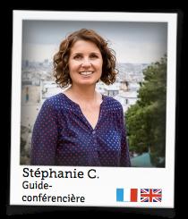 Stéphanie C., guide-conférencière