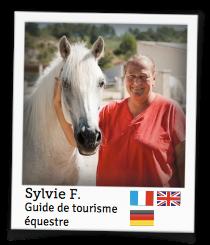 Sylvie F., guide de tourisme équestre