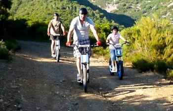Haut Hérault : balade en trottinette électrique et dégustation