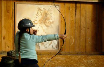 Initiation au Tir à l'Arc à cheval à coté de Saulieu