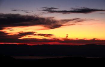 Balade conviviale et apéritif montagnard au coucher du soleil