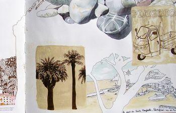 Atelier de carnet de voyage dans Aix : visite originale et artistique