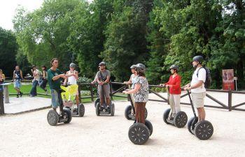 Visite ludique des incontournables d'Amboise en gyropode