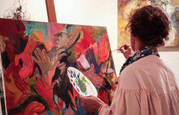 Cours de peinture et de modelage à Roquefort la Bédoule