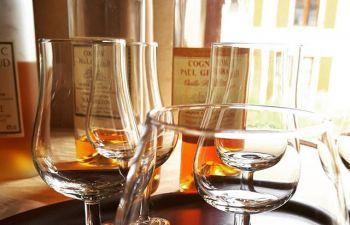 Atelier de dégustation de Cognac, près d'Angoulême