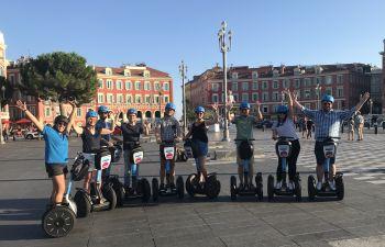 Balade insolite à la découverte de Nice en segway