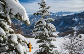 Journée Freeride dans les Hautes Alpes