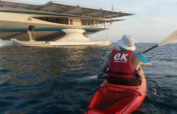 Randonnée en kayak autour du célèbre Cap d'Antibes