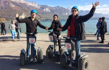 Visite insolite d'Annecy en gyropode segway