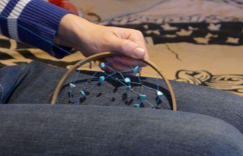 Atelier DIY de création d'attrape-rêves dans le Lot et Garonne
