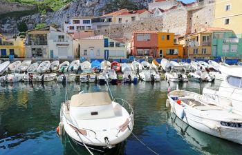 Découverte des vallons marseillais, petits ports pittoresques