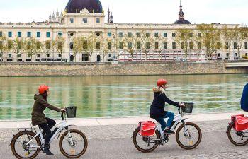 Balade à vélo électrique à Lyon