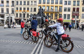 Balade à vélo électrique de Lyon du Nord au Sud