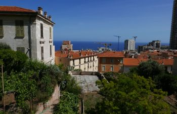 Repas itinérant et découverte de la ville de Beausoleil, près de Monaco