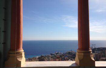L'après midi, les hauts de Beausoleil, frontalier Monaco, du Tonkin au Riviera Palace avec Colette
