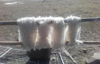 Journée filage/feutrage de laine Mohair près de Gap