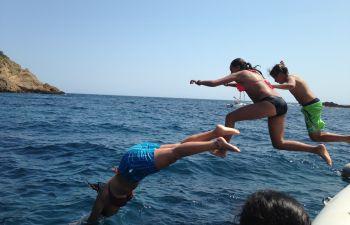 Balade en zodiac dans la rade de Marseille et aux îles du Frioul