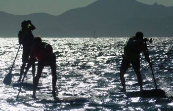 Cours de Stand Up Paddle au Cap d'Antibes