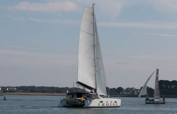 L'après-midi mer sur un catamaran en Bretagne