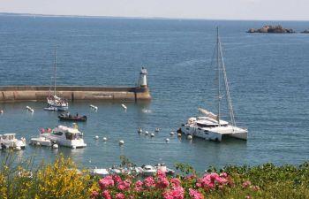 Une matinée à bord d'un catamaran en Bretagne