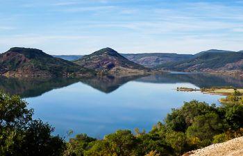 Découverte du Lac du Salagou en VTT Electrique