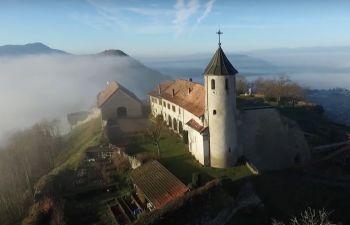 Visite des Châteaux Maudits à Allinges