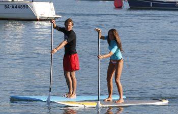 Initiation ou perfectionnement au stand up paddle à Hendaye