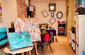Cours de peinture: Découverte de l'art abstrait à Honfleur
