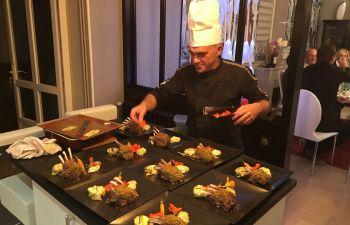 Cours de cuisine à domicile avec un professionnel
