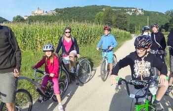 Découverte historique et culturelle du Périgord Noir à vélo électrique ou VTT