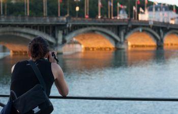 Initiation à la photographie dans la ville de Bayonne