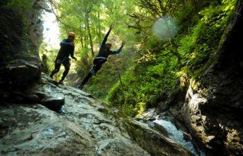 Parcours canyoning aux alentours de Grenoble