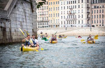 Parcours Découverte Kayak près de La Confluence