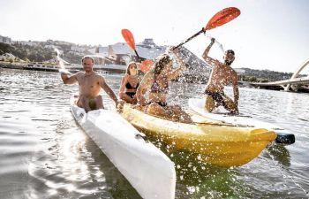 Découverte Kayak en autonomie à la Confluence
