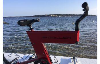 Randonnée en waterbike sur les îles de Lérins