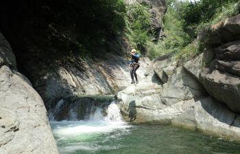 """Journée découverte Canyoning """"Caprie"""" près de La Salle les Alpes"""