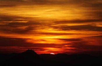 Randonnée à raquettes et apéritif au coucher du Soleil
