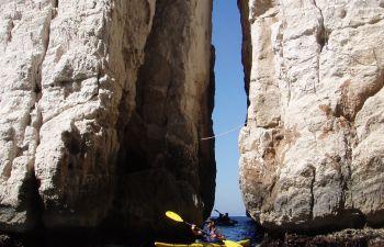 Journée Kayak de Mer Parc National des Calanques de Cassis