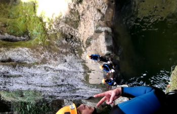 Canyoning dans les Gorges de Langouette