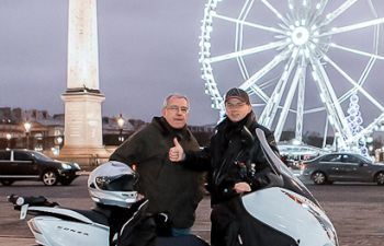 Les incontournables de Paris de nuit en deux roues