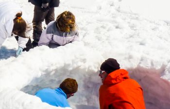 Découverte de la Vallée d'Ossau en raquettes à neige