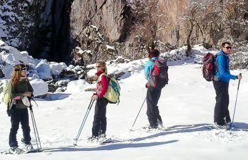 À la découverte de la Vallée d'Aspe en raquettes à neige