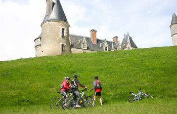 Touraine : Balade guidée en vélo ou VTT