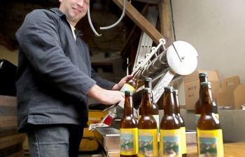 Visite d'une brasserie artisanale Bio sur les chemins de Compostelle