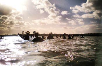 Marche Aquatique Cardiofitness Aquasport en mer en Finistère Sud