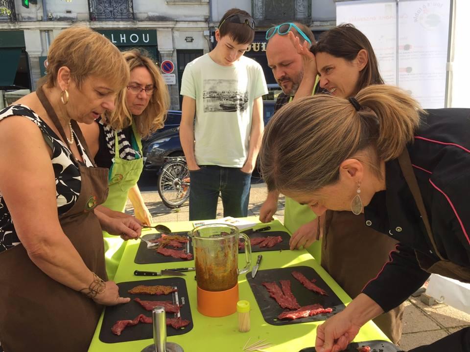 Cours de cuisine la carte au c ur de tours activit for Atelier cuisine tours