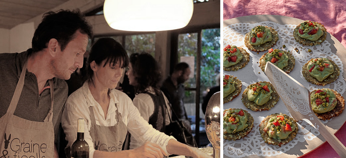 Cours de cuisine avec des produits bio du potager pr s de - Cours de cuisine nice ...